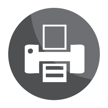 High Quality Printing Icon